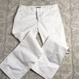 Gap cotton pants 6 regular, straight leg.